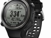montre avec moniteur fréquence cardiaque Epson SF-810 Runsense disponible