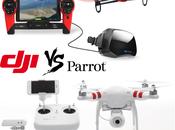 Quel drone choisir: Parrot Bebop Phantom VISION+ quadricoptère