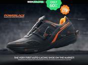 Powerlace, chaussures laçage automatique