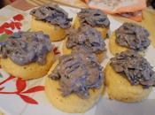 Palet polenta champignons crème