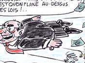 Caricature Serge Dassault