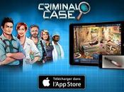 dernière version Criminal Case maintenant disponible iPhone