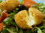 Mini Babybel panés... pour salade gourmande