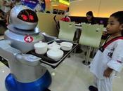 robots dans tourisme arrivent