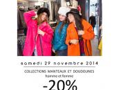 novembre, c'est Fête Manteaux Doudounes