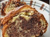 Cake Marbré chocolat orange