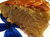 Gâteau d'hiver orange, noix quatre épices