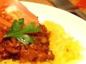 Courge butternut bolognaise