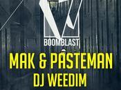 Boom Blast Pasteman, Weedim, Chris Dogzout Nouveau Casino (2×2 places gagner)