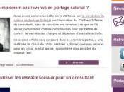 Présentation blog portage salarial leportagesalarial.com