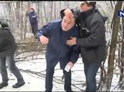 bloc glace tombe tête (Serbie)