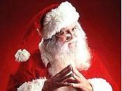 Demande Père Noël d'être heureux
