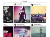 Shazam nouvel écran d'accueil morceaux complets Spotify