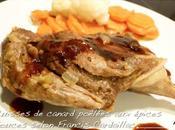 Cuisses canard poêlées épices douces façon médiévale selon Francis Cardaillac