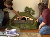 construisent maison Hobbit pour chat