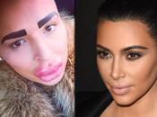 dépense euros pour ressembler Kardashian