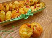 Mini quiches sans pâte jambon/poireaux