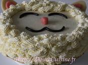 Sponge cake ganache montée vanille
