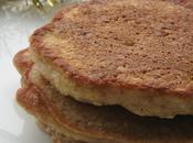 Pancakes pomme, noix oranges confites