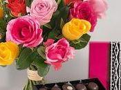 Certains bouquets Interflora peuvent être livrés avec cadeaux festifs