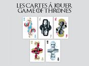 Game Thrones Découvrez cartes jouer illustrées célèbre série télévisée