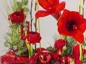 compositions florales proposées Interflora pour cette d'année