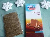 flocons neige diététiques chocolat-anis sans sucre accrocher sapin Noël)