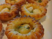 Minis Tartelettes Noix Pétoncles beurre 'ail