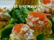 Mini-bouchées Saumon Fumé Labeyrie.