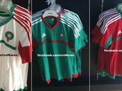 Maroc nouveau maillot Adidas Lions l'Atlas