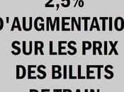 d'augmentation ans: SNCF main lourde!