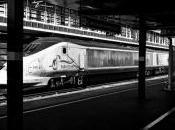 Londres-Nimes train voyage (tout fait) comme autres