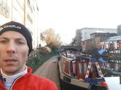 Regent's Canal Londres rêve runner