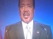 CAMEROUN 2015. Paul Biya: Extrait vidéo discours chef l'Etat décembre 2014