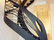 L'escalier design contemporain sublime l'Art Nouveau