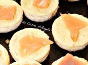 Mini cheese cakes saumon fumé