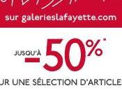 [bon plan] Soldes Hiver 2015 Galeries Lafayette