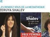Rencontre avec Zeruya SHALEV prix Femina 2014 Janvier 2015