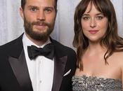 Jamie Dornan Dakota Johnson Golden Globes Awards (2015)