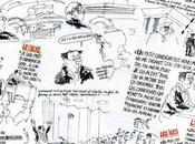 Hommage Cabu Coluche Polytechnique janvier 1981