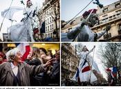 Reportage marche Républicaine Janvier 2015 Paris