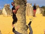 desert pinnacles Sandy Cape