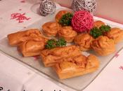 Petits muffins Crevettes Curcuma