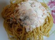 Spaghettis saumon