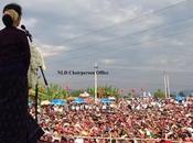 Aung première ligne pour l'unité respect toutes ethnies communautés Birmanie