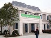 murs d'une villa chinoise imprimés individuellement avec imprimante