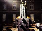 Christian Lapie sculpture dans cour musée Beaux-arts