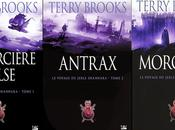 VOYAGE JERLE SHANARRA SORCIERE D'ISLE, ANTRAX, MORGAWR Terry Brooks