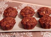 Muffins {sans beurre} d'avoine, Pomme Chocolat lait râpé