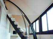 L'escalier design profil stylisé